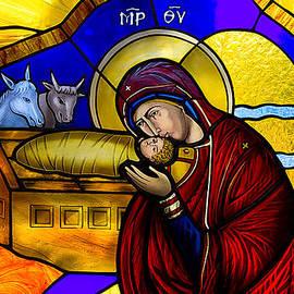 Munir Alawi - Orthodox Christmas Card