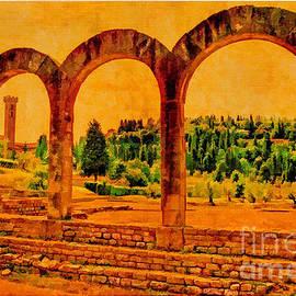 Nigel Fletcher-Jones - Roman Arches at Fiesole