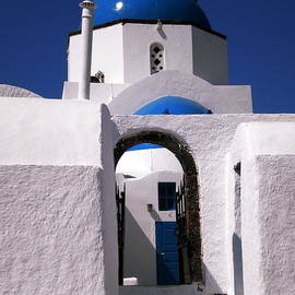 Colette V Hera  Guggenheim  - Santorini church greece