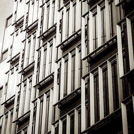 Lenny Carter - Slatted window architecture
