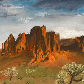 Jackie Novak - Superstition Mountains