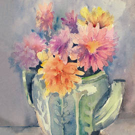 Arline Wagner - Teapot Flowers