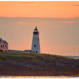 Richard Bean - Wood Island Light Sunrise