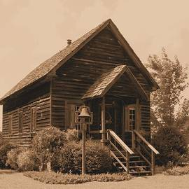 Lynnette Johns - 1876 Schoolhouse Sepia