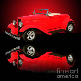 Jim Carrell - 1932 Ford V8 Red Roadster