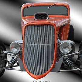 Betty Northcutt - 1933 Ford Roadster - Hotrod Version Of Scream