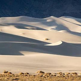 Eureka Dunes Panorama by Jean Noren