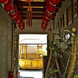 street scenery at the Qibao Ancient Town by Jiayin Ma