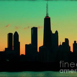 Sophie Vigneault - Chicago Skyline Cartoon