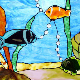 3 Fishes In The Sea by Jane Croteau