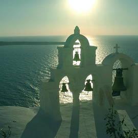 Sunset Santorini Greece by Colette V Hera Guggenheim