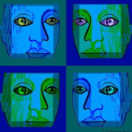 Irmgard Schoendorf Welch - 746 - Face Design