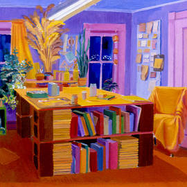 A Studio Space in 1977 by Nancy Griswold