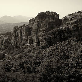 A View to Three Monestaries in bw by Jouko Lehto