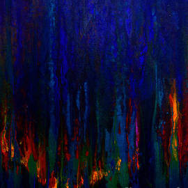 Claire Bull - Abstract Evergreens