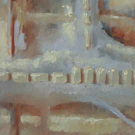 Linda Eades Blackburn - Abstract  Trio Three