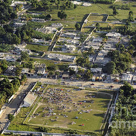 Aerial View Of Port-au-prince, Haiti by Stocktrek Images
