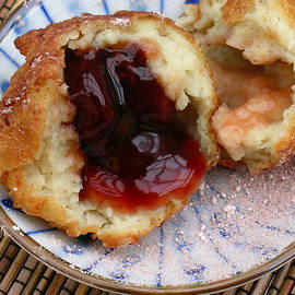 Ah Bing Cherry Fritters by James Temple