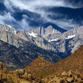 Bill Wight - Alabama Hills With Mt Whitney In Background, California, Usa, May 2008