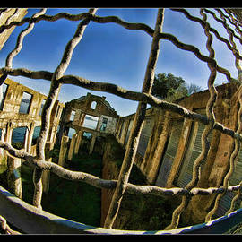 Alcatraz Though The Fence by Blake Richards