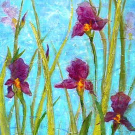 Among the Wild Irises by Carla Parris