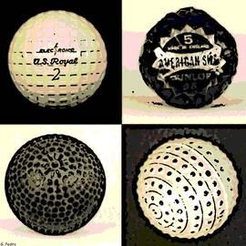 George Pedro - Antique Golf Balls