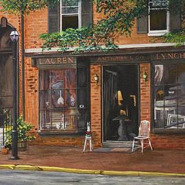 Antique Shop Greenwich Vlg by Stuart B Yaeger