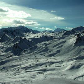 Colette V Hera  Guggenheim  - Austria Snow Mountain