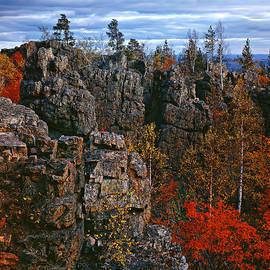 Autumn at Azov Mauntain by Vladimir Kholostykh
