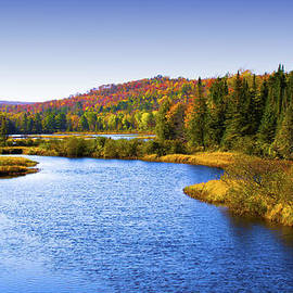 The Moose River in Thendara by David Patterson