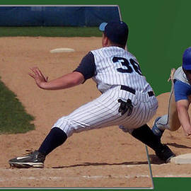 Thomas Woolworth - Baseball Pick Off Attempt 02
