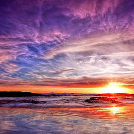 Paul Svensen - Birubi Point Sunset Redux