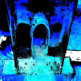 Colette V Hera  Guggenheim  - Blue Turquoise Harmony
