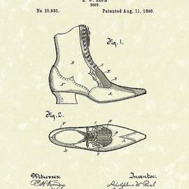 Prior Art Design - Boot Design 1896 Patent Art