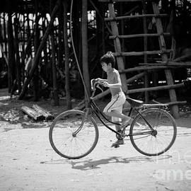 Stefan Olivier - Boy on Bicycle