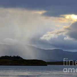 Breaking Storm Over Scottish Loch