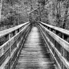 Bridging the Seasons BW by JC Findley