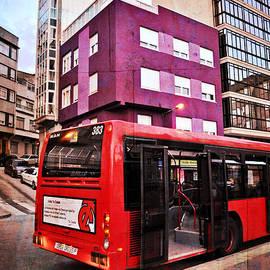 Mary Machare - Bus Stop - La Coruna