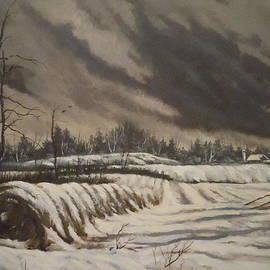 James Guentner - Butler Farm In Winter