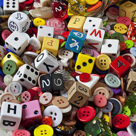 Buttons And Dice by Garry Gay