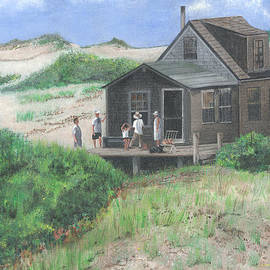 Cabin In The Dunes by Stuart B Yaeger