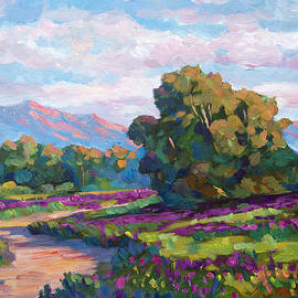 David Lloyd Glover - California Hills - Plein Air