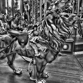 Carousel  Black and White