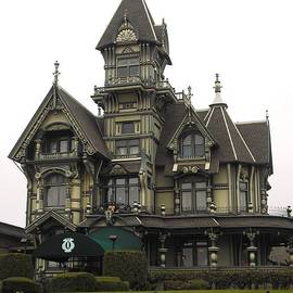 Carson Mansion Eureka by Kelly Manning