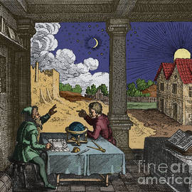 Celestial Sphere And Astrologer by Science Source