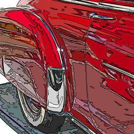 Samuel Sheats - Chevrolet Fleetline Deluxe Rear Wheel Study