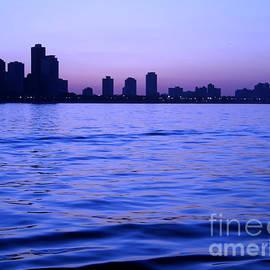 Sophie Vigneault - Chicago Skyline at Night