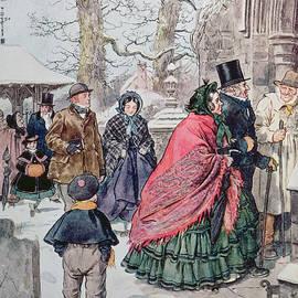 Charles Edmund Brock - Christmas at Dreamthorpe
