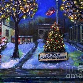 Rita Brown - Christmas at the Municipal Center
