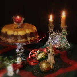 Christmas Flan from Tequila's by Frank Schmidt